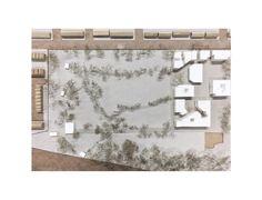 'The oblique housing project'_1.500 site model _Elia Loupasaki_Year 5_Kingston University_MArch