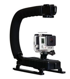 Opteka X-GRIP Professional Action Stabilizing Handle Specifically Made for GoPro HD and with Accessory Shoe for Flash, Mic, or Video Light (Black) Gopro Hd, Gopro Accessories, Gopro Camera, Video Lighting, Types Of Cameras, Selfie Stick, Outdoor Photography, Stability