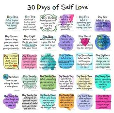 Challenge : 30 Day Self Love Challenge Mental Health Journal, Mental Health Help, Mental Health Quotes, Wellness Quotes, Happiness Challenge, Journal Writing Prompts, Self Care Activities, Mental Health Activities, Wellness Activities