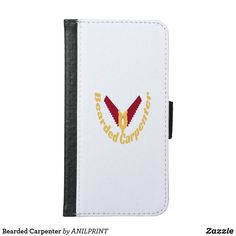 Beard Gifts, Gifts For Carpenters, Personalized Leather Wallet, Custom Leather, Leather Design, Groomsman Gifts, Samsung Galaxy S6
