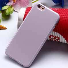 New Arrival Case For iPhone 6 6S/5 5S SE/6 S Plus Candy Colors Soft TPU Silicone Case