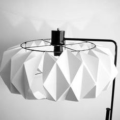 Ciekawe DIY: jak zrobić abażur z papieru do starej lampy. Pomysl na Zrób to sam