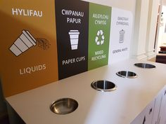 Support your Corporate Sustainability Goals, improve engagement in recycling and smarten up your workspace with tailormade recycling stations or units Recycling Station, Recycling Bins, Yogurt Covered Strawberries, Waste Segregation, Liquid Paper, Corporate Social Responsibility, Trash Bins, Reduce Waste, Face Care