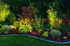 Ultimate guide to landscape and backyard lighting ideas for We explain every type with photos and then have amazing photo gallery of the best landscape lights. Find and save ideas about Backyard lighting Small Backyard Landscaping, Landscaping Tips, Backyard Ideas, Mailbox Landscaping, Luz Solar, Landscape Lighting Design, Landscape Designs, Outdoor Garden Lighting, Pathway Lighting