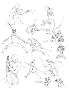 superhero fighting poses - Google Search