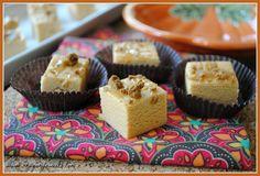 Pumpkin Spice Fudge uses jello pumpkin pudding mix