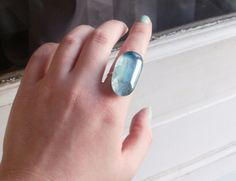 Happy Cake...and other fabulous things.: Marbelized Glass Marble Ring