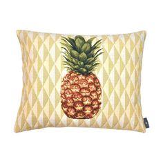 Cushion pineapple yellow background - Cushions - Art de Lys