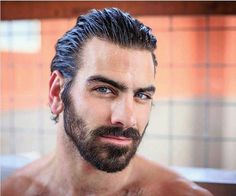 Hot tubbing in the mountains of Colorado after three crazy days of snowboarding! Nyle Dimarco, Crazy Day, Hair And Beard Styles, Male Face, Facial Hair, Male Beauty, Bearded Men, Gorgeous Men, Male Models