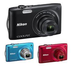 Die S3200 ist mit einem 6-fachen Weitwinkel-Zoom ausgestattet, um eine Brennweite von 26 bis 156 mm (entsprechend 35 mm) zu erreichen. So ist diese Nikon Kamera sowohl bei Weitwinkel-Aufnahmen wie im Telebereich sehr leistungsstark. Auch mit wenig Abstand nimmt sie extrem detaillierte Fotos auf. So können Sie Ihren Bildern mit Sepiaeffekt oder einer selektiven Farbe ganz einfach Originalität verleihen.