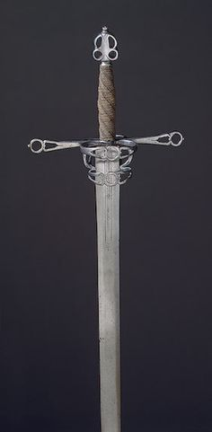 Hand-And-A-Half Sword  Germany, 16th Century  The Hermitage Museum