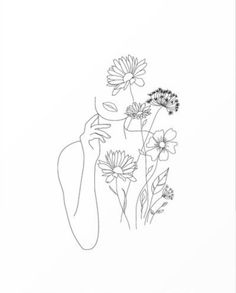 Buy reproductions of minimalist art lines with flowers III from . - Buy reproductions of minimalist art lines with flowers III from Expedition, - Art Drawings Sketches, Sketch Art, Simple Art Drawings, Minimal Drawings, Modern Drawing, Colorful Drawings, Tattoo Sketches, Drawing Ideas, Art Minimaliste