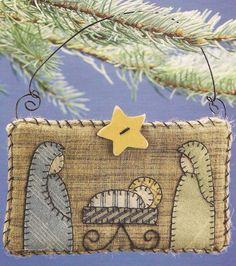 Nativity Quilt Ornament (copy)