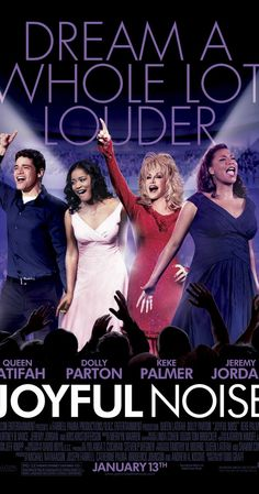 Directed by Todd Graff.  With Queen Latifah, Dolly Parton, Keke Palmer, Jeremy Jordan. G.G. Sparrow faces off with her choir's newly appointed director, Vi Rose Hill, over the group's direction as they head into a national competition.