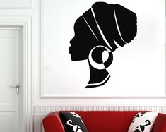 Etsy :: Your place to buy and sell all things handmade Minnie Mouse Wall Decals, Girls Wall Stickers, Wall Stickers Quotes, Nursery Wall Stickers, Name Wall Decals, Nursery Wall Decor, Wall Shelf Unit, Beautiful African Women, Book Wall