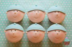New Baby Boy Cupcakes