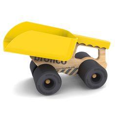 Suchst du ein ausgefallenes Geschenk? Bronco ist ein erfrischend junges Spielzeug Design für jedes Alter. Sandkasten und Kinderzimmer werden zur spannenden Baustelle.