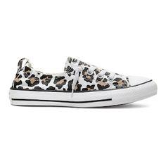 Women's Converse Chuck Taylor All Star Shoreline Leopard Sneakers, Size: Natural Leopard Print Converse, Leopard Sneakers, Women's Sneakers, Sneakers Fashion, Fashion Shoes, Ugg Boots, Shoe Boots, Converse Shoreline, Boots 2017