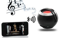 "Mini Bluetooth Speaker ""Sphero"" - 2.0 Watt, built in Mic"