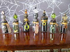 Dark Squirrel's Miniature Asylum ~: New Potion Bottles