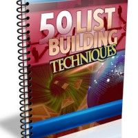 50 List Building Techniques | Business and Marketing With You