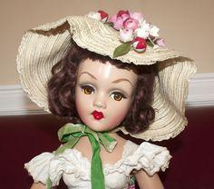 Stunning Madame Alexander Composition Melanie Portrait Doll with Clover Leaf Tag | eBay