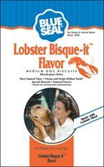 Kent Nutrition Blue Seal Lobster Bisque-it Flavor Medium Dog Biscuits 4 Lbs. *** Don't get left behind, see this great dog product : Dog treats