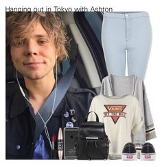 """Hanging out in Tokyo with Ashton"" by irish26-1 ❤ liked on Polyvore featuring Topshop, Vans, Mossimo, Maybelline, NARS Cosmetics, women's clothing, women, female, woman and misses"