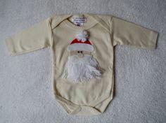 Body Manga Longa Papai Noel