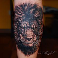 Lion Hand Tattoo, Hand Tattoos, Tatoos, Lion Shoulder Tattoo, Christian Tattoos, Tattoo Artists, Tatting, Black And Grey, Survival