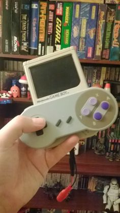 #RaspberryPi inside a Gameboy console