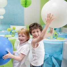 Si los globos son la locura de los niños..¡cuanto una decoración con globos Gigantes!