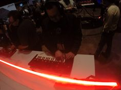 Roland booth at NAMM