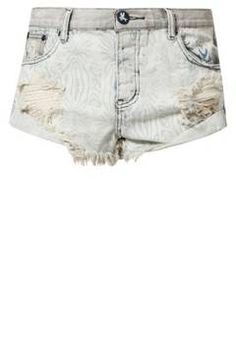 One Teaspoon WILDWOOD BANDITS Shorts spaceboy