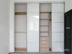 Двери-купе для шкафа и гардеробной стекло белое купить в Московской области на Avito — Объявления на сайте Avito