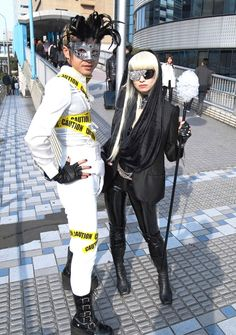 Lady Gaga Fans in Japan Lady Gaga Concert, Picture Day, Little Monsters, Costumes, Costume Ideas, Fashion Pictures, Fans, Japanese, Inspire