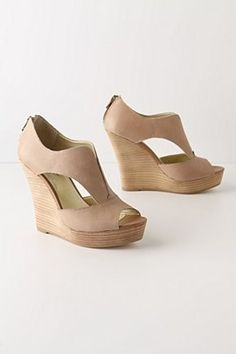 nude wedges shoes-clothes