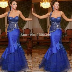 Find More Evening Dresses Information about New Arrival Sweetheart Beaded With Rhinestones Mermaid Tulle Royal Blue Formal Party Gown sexy arabic evening prom dress 2015,High Quality beaded shell,China beaded flower girl dress Suppliers, Cheap sweetheart neckline prom dress from Beautiful In White Wedding Dresses on Aliexpress.com