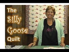 ▶ The Silly Goose Quilt Tutorial - YouTube