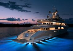 Luxury motor yacht Red Square is a steel superyacht to be built by Dunya Yachts, based in Turkey. This impressive yacht was designed by Diana Scott from the dynamic Monaco based design studio. Private Yacht, Yacht Boat, Yacht Club, Sail Away, Speed Boats, Water Crafts, Belle Photo, Luxury Lifestyle, Rich Lifestyle