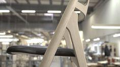 The Sawbuck Chair by Hans J. Wegner