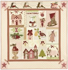 A Vintage christmas by Bunny Hill Designs - would love to do this!