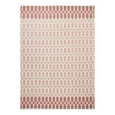 Teppich Smooth Comfort Small Pat - Rot - 140 x 200 cm, Tom Tailor