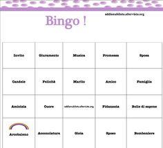 #bingo addio nubilato! Scarica gratis le cartelle e le parole da estrarre dal blog: http://addionubilato.altervista.org/bingo-per-addio-al-nubilato/ #addioalnubilato #addionubilato Contattami se vuoi Personalizzare il tuo Bingo :-D Bingo per addio al nubilato gioco per addio al nubilato