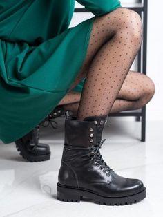 Čierne kanady Combat Boots, Tommy Hilfiger, Chelsea, Michael Kors, Shoes, Fashion, Moda, Zapatos, Shoes Outlet