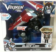 "NIB-Voltron-Legendary-Defender-Black-Lion-Combiner-Electronic-DreamWorks-2017 Black Lion the main combiner Lion of Voltron. When set of all 5 lions combined together they form an interactive 16"" Voltron. This is 2017 New Release VOLTRON Legendary Series Black Lion DreamWorks. 