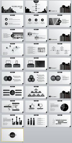 28+ Best Gray Business PPT Template | PowerPoint Templates and Keynote Templates Ppt Template Design, Ppt Design, Keynote Template, Brochure Design, Business Powerpoint Templates, Business Plan Template, Powerpoint Presentation Templates, Infographic Powerpoint, Creative Infographic