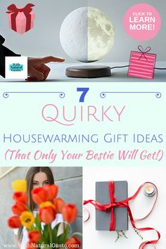 These 7 quirky housewarming gift ideas are weirdly fun! || Housewarming gift party ideas, Gift ideas for best friend, present presents ideas for best friend friends, moving in into a new house, moving away gifts for friends party, home decoration living room how to make, diy home decor on a budget living room, diy home decor for apartments budget, home decor ideas living room cozy dreams