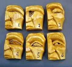 Carving eyes