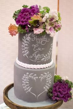 Chalkboard Cake...